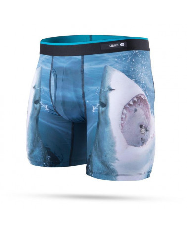 Stance Shark Tooth Boxer Brief - Navy