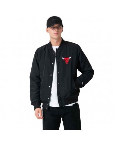 New Era Giacca NBA Team Logo Jacket Chicago Bulls - Black