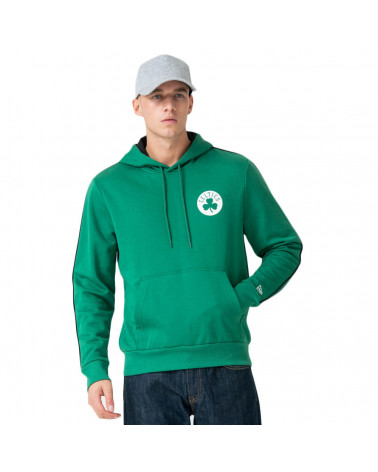 New Era NBA Sripe Piping Hoody Boston Celtic - Green