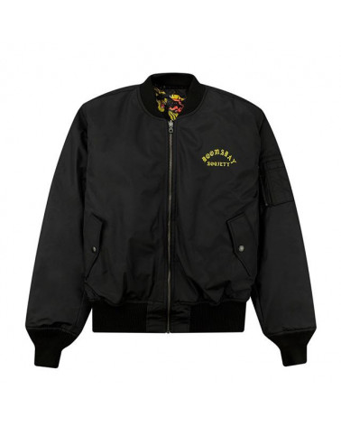 Doomsday Giacca Endless Fight Bomber Jacket - Black