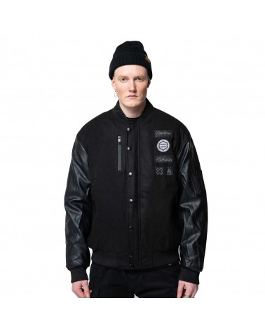 Dolly Noire Giacca Hazard Bomber - Black