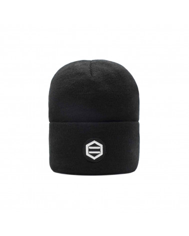 Dolly Noire Patch Black Beanie