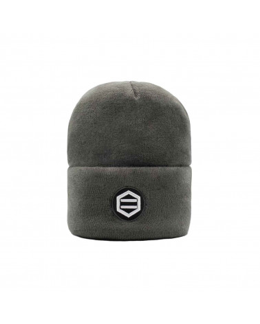 Dolly Noire Cappello Patch Grey Beanie
