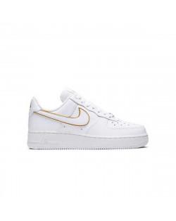 Nike Air Force 1 '07 ESS WMNS - White/White-Metallic Gold