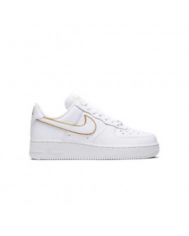 Nike Air Force 1 '07 ESS WMNS - White/White-Metallic Gold