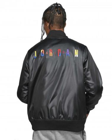 Jordan Giacca Spirit DNA HBR Satin Jacket - Black
