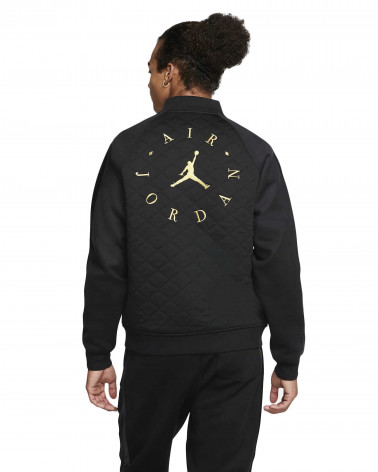 Jordan Remastered Quilted Jacket - Black