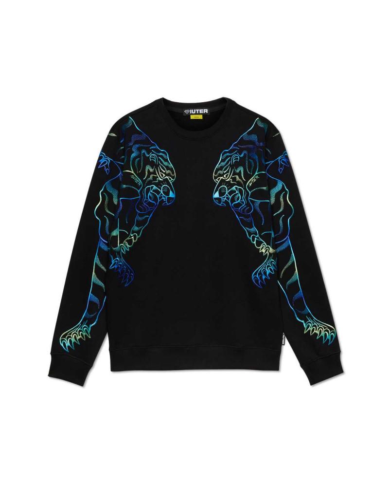 Iuter - Sweatshirt Iuter Doble Nepal - Black