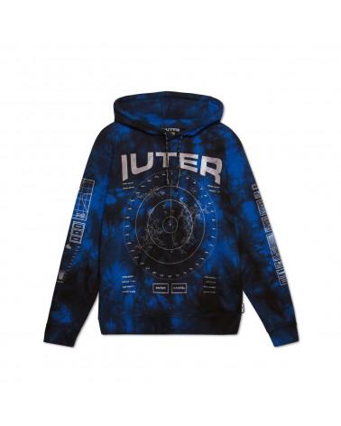Iuter - Sweatshirt Iuter Radar Marble Hoodie - Dark Navy