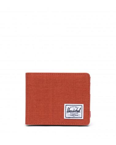 Herschel - Portafogli Roy Coin - Picante Crosshatch