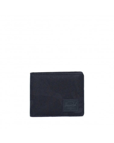 Herschel - Roy Coin Wallet - Black Tonal