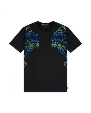 Iuter T-Shirt Double Nepal Tee - Black