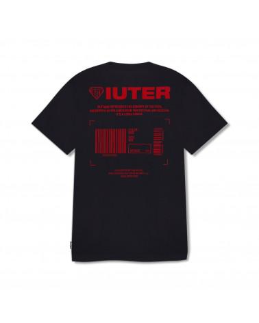 Iuter T-Shirt Info Tee - Black