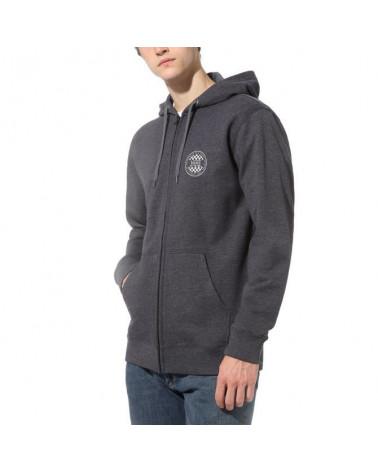 Vans Sweatshirt OG Checker Zip - Black/Heather