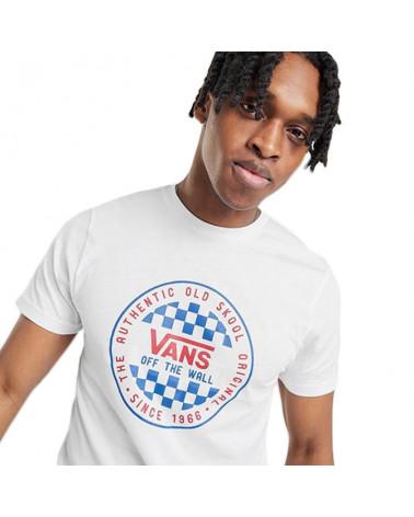 Vans T-Shirt OG Checker - White