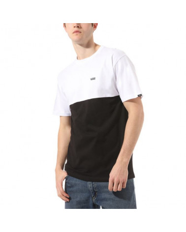 Vans T-Shirt Colorblock - Black/White