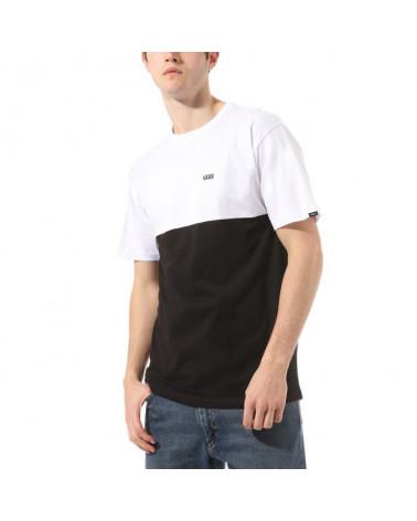 Vans T-Shirt Colorblock - Black/White