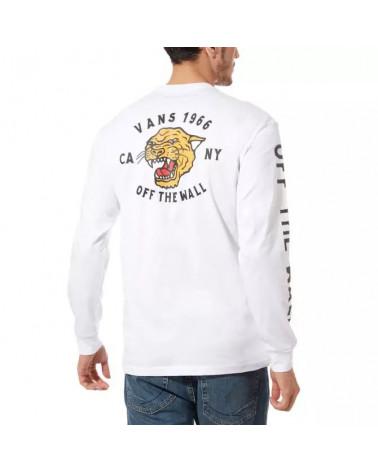 Vans T-Shirt Growler LS - White