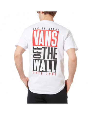 Vans T-Shirt New Stax - White