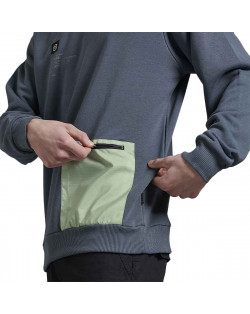 Dolly Noire Sweatshirt Mint Pocket Storm Crewneck