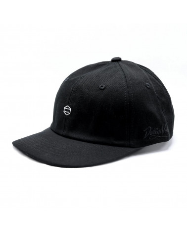 Dolly Noire Foldable Dad Hat - Black