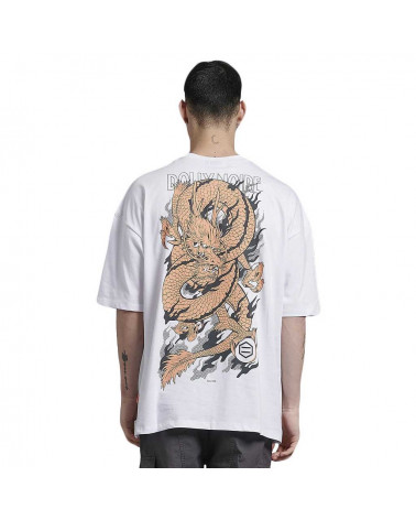 Dolly Noire T Shirt Oversize Ryu Dragon Organic