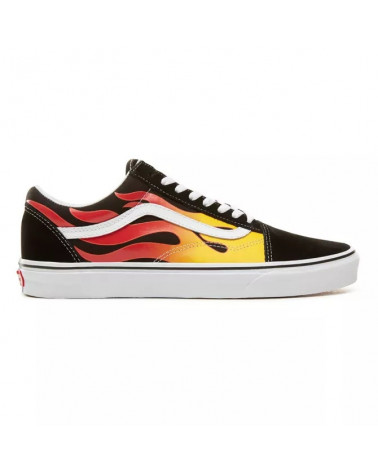Vans Old Skool Flame - Black/Black/True White