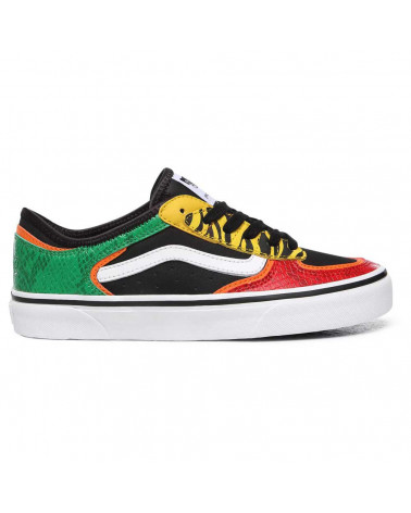 Vans Rowley Classic - Multi Animal Rasta/Black