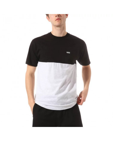 Vans T-Shirt Colorblock - Ash Heather/Black
