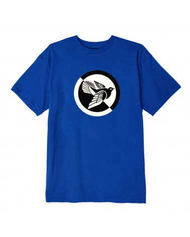 Obey Split Dove T-Shirt - Royal Blue