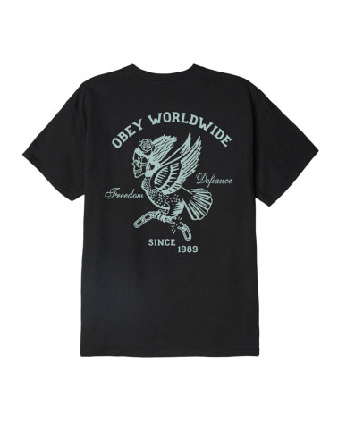 Obey Demon Bird T-Shirt - Black