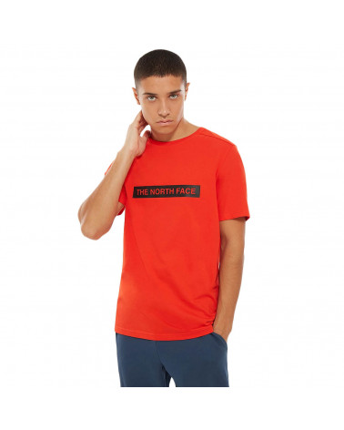 The North Face T-Shirt Light Tee - Fiery Red