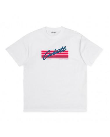 Carhartt Wip Horizon Script T-Shirt - White