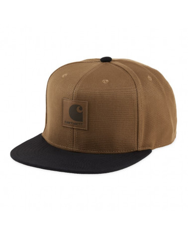 Carhartt Wip Cappello Logo Cap Bi Colored - Hamilton Brown/Black