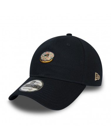 New Era Cappello Doughnut 9TWENTY - Black