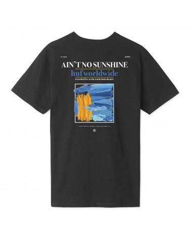 HUF Aint no Sunshine T-Shirt - Black