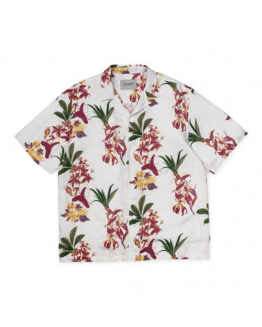 Carhartt Wip Camicia S/S Hawaiian Floral Shirt
