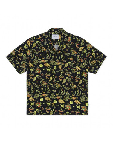 Carhartt Wip Camicia S/S Paradise Shirt