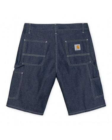 Carhartt Wip Pantaloncini Ruck Single Knee Short - Blue Rigid