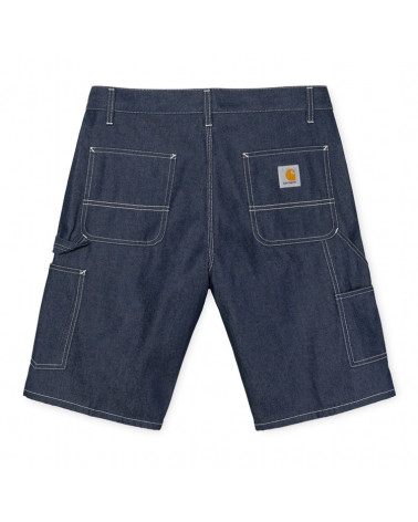 Carhartt Wip Ruck Single Knee Short - Blue Rigid