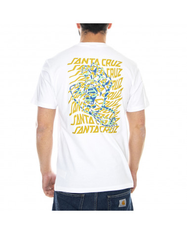 Santa Cruz Vortex Hand T-Shirt - White