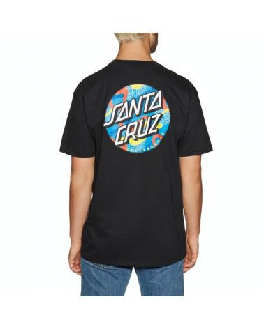 Santa Cruz Primary Dot T-Shirt - Black