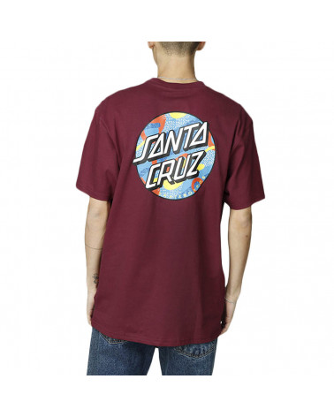 Santa Cruz Primary Dot T-Shirt - Wine
