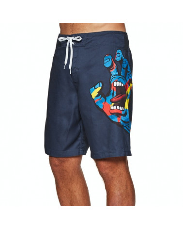 Santa Cruz Boardshort Primary Hand Boardie - Dark Navy