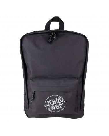 Santa Cruz Backpack Zaino Opus Dot Day Bag - Black