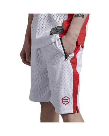 Dolly Noire Ray Active Shorts - White/Red