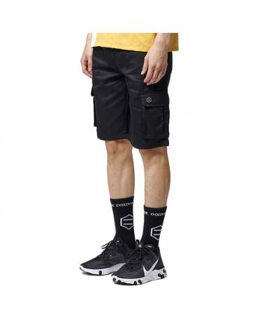Dolly Noire Pantaloncini Shorts Ripstop - Black