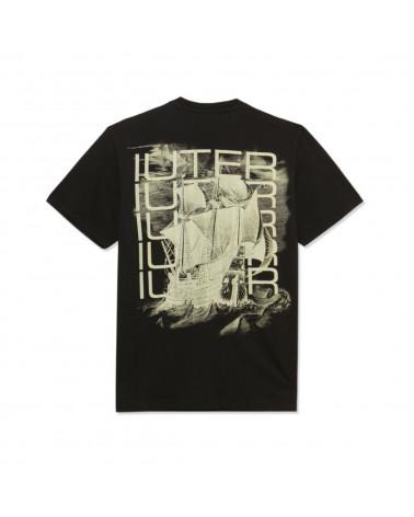 Iuter T-Shirt Caravel Tee - Black