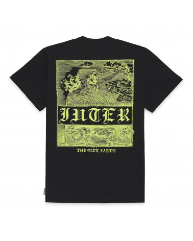 Iuter T-Shirt Dragon Tee - Black