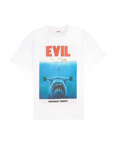 Doomsday Evil Jaws T-Shirt - White